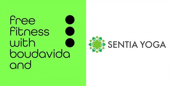Boudavida sessions: Fri-Yay Yoga with Sentia Yoga