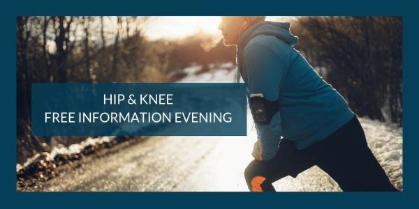 FREE HIP & KNEE PAIN EDUCATION EVENING