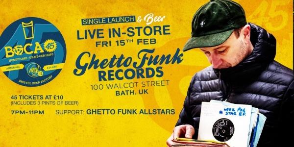 Boca45 (Live In Store) - Ghetto Funk Records
