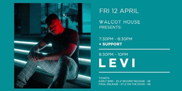 LEVI x Walcot House, Bath // Friday 12th April