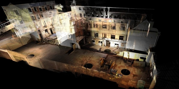 Point clouds and historic buildings: Surveying and assessing historic masonry