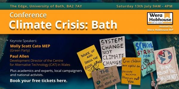Wera Hobhouse MP Presents - Climate Crisis: Bath