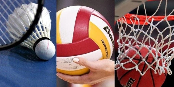 FREE GAME OF BADMINTON or BASKETBALL  - Monday 21 October