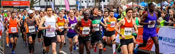 Mercer Surrey Half Marathon 2019