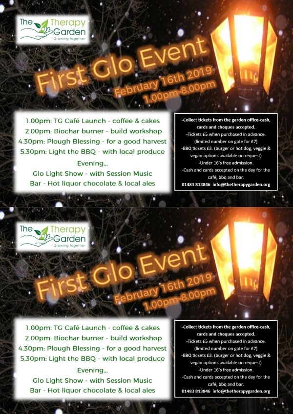 The Therapy Garden - First Glo Event
