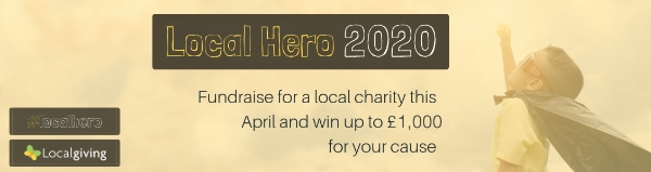 Fundraise for us this April and we could win up to £1,000