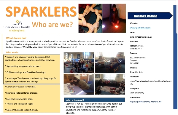 Sparklers Foundation - Who are we?