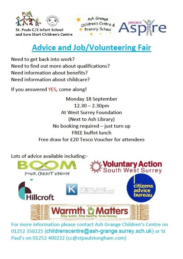 Job & Volunteering Fair