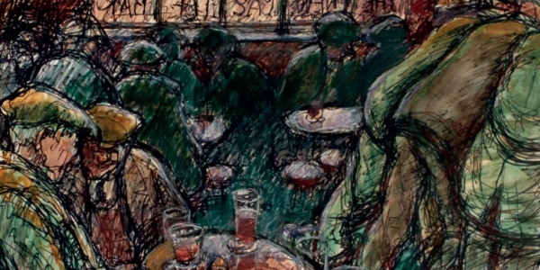 Norman Cornish: Sketching Pub Tour