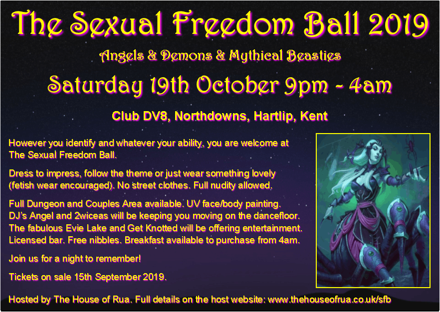 The Sexual Freedom Ball 2019