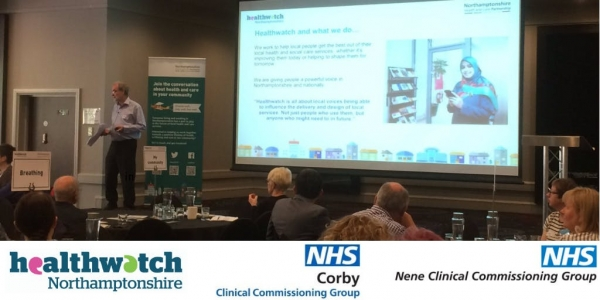 Corby Engagement on the setting up of a single Northamptonshire Clinical Commissioning Group