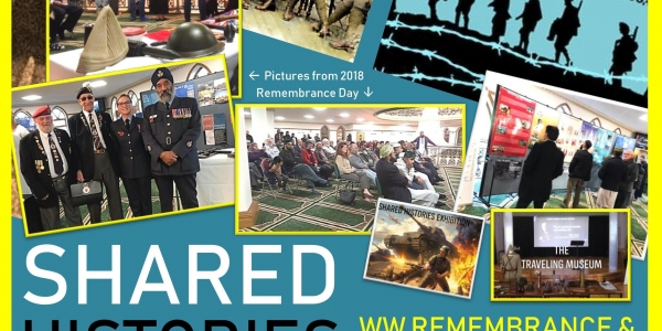 SHARED HISTORIES WW REMEMBRANCE & MOSQUE OPEN DAY
