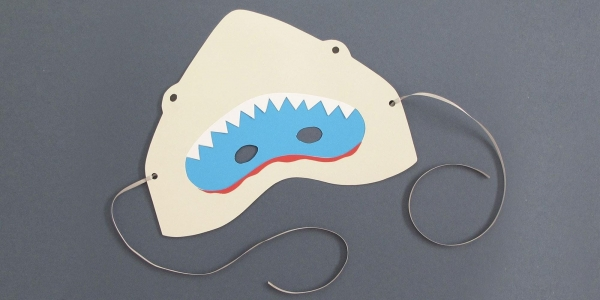 Create with Paperchase: Make a jaw-some shark mask (Colchester Store)