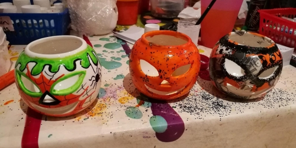 Pottery painting & more Autumnal & Xmas theme
