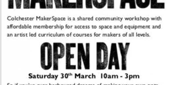 Open Day Saturday 30th March