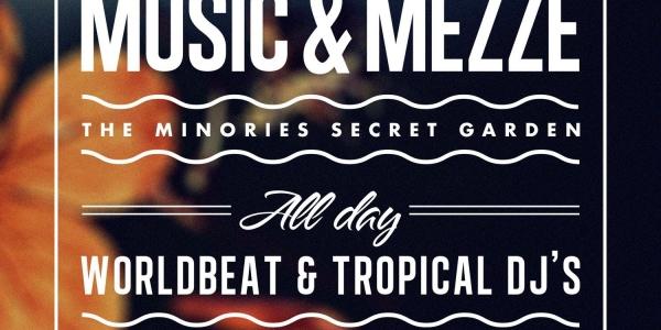 Music & Mezze at the Minories Secret Garden, Colchester