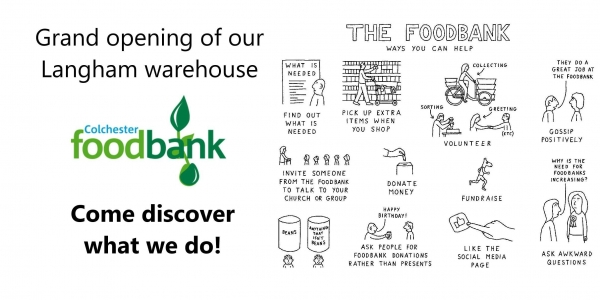Grand opening of Colchester Foodbank's Langham Warehouse