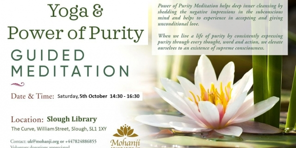 Yoga & Guided Meditation at Slough Library