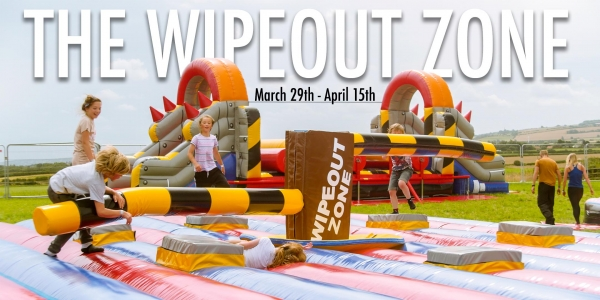 The Wipeout Zone - April 1st (12pm-1pm)