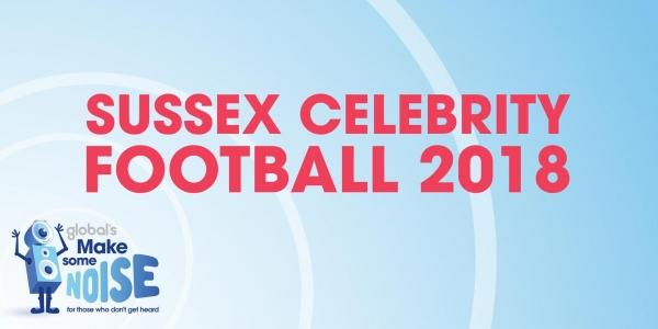 Sussex Celebrity Soccer 2018
