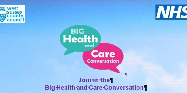 Big Health and Care Conversation - Crawley