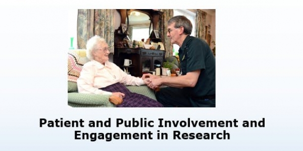 Patient and Public Involvement and Engagement in Research