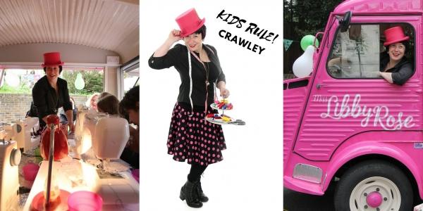 The Pink Sewing Bus at Hobbycraft Crawley: KIDS RULE!!