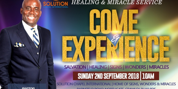 Special Healing & Miracle Service
