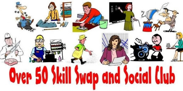 Over 50 Skill Swap and Social Club
