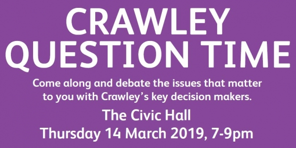Crawley Question Time 2019