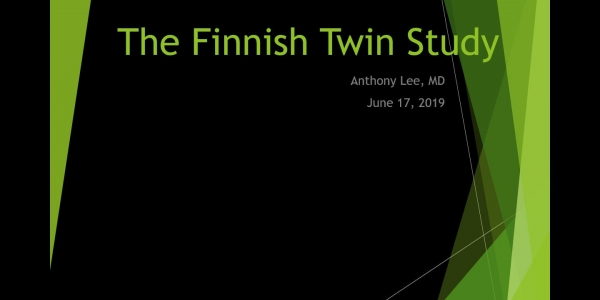 The Finnish Twin Study