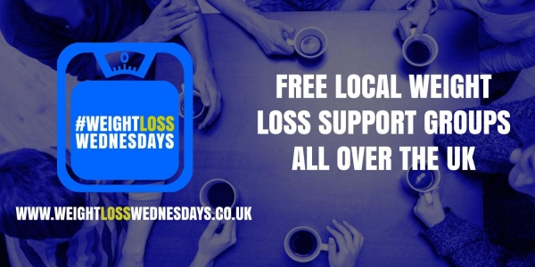 WEIGHT LOSS WEDNESDAYS! Free weekly support group in Horley