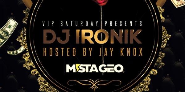 VIP Saturdays at Deja Vu Crawley with DJ Ironik