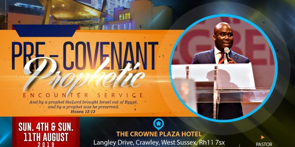 PRE - COVENANT PROPHETIC ENCOUNTER SERVICE