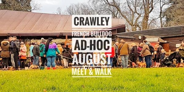 Crawley French Bulldog Ad-hoc August Meet & Walk