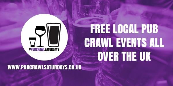 PUB CRAWL SATURDAYS! Free weekly pub crawl event in Crawley