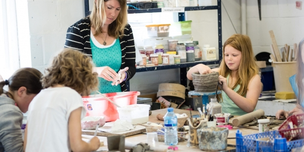 Advanced  Pottery for Young Potters