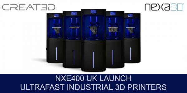 Nexa3D UK Launch - Ultrafast 3D Printing