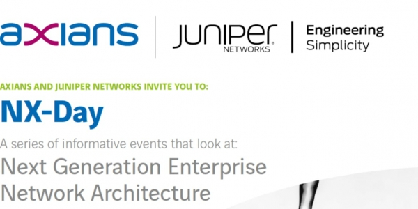 Axians & Juniper - The Next Generation Enterprise Network as a Service