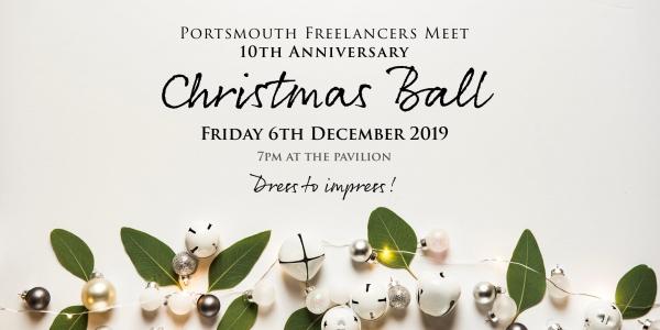 Portsmouth Freelancers Meet 10th Anniversary Christmas Ball