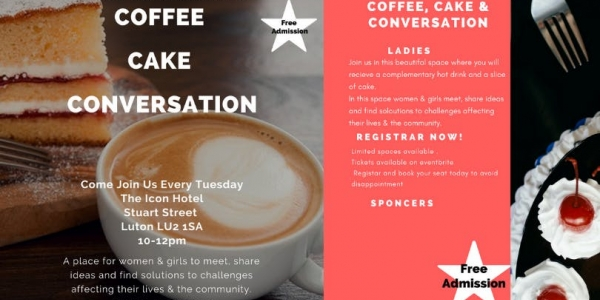Coffee, Cake & Conversation (Evening)