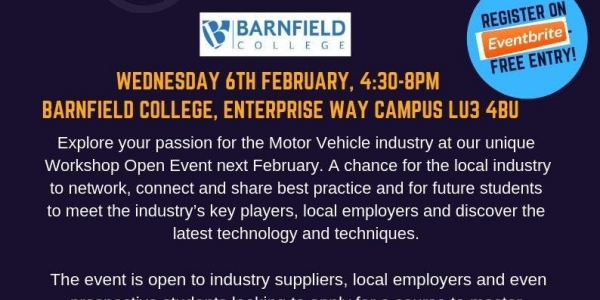 Automotive Trade evening - Meet the Motor Industry at Barnfield