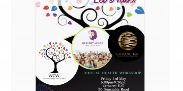 Mental Health. Let's Talk!