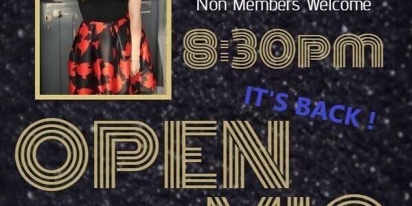Open Mic Night - The Return
