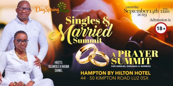 SINGLES & MARRIED PRAYER SUMMIT