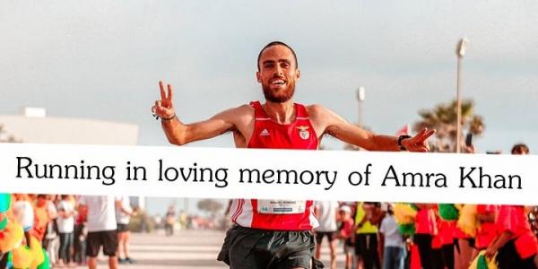 Run in memory of Amra