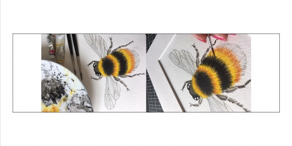 PAINT PARTY - BEAUTIFUL BEE