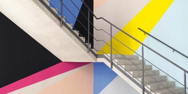 Giant Colour Wall Drawing