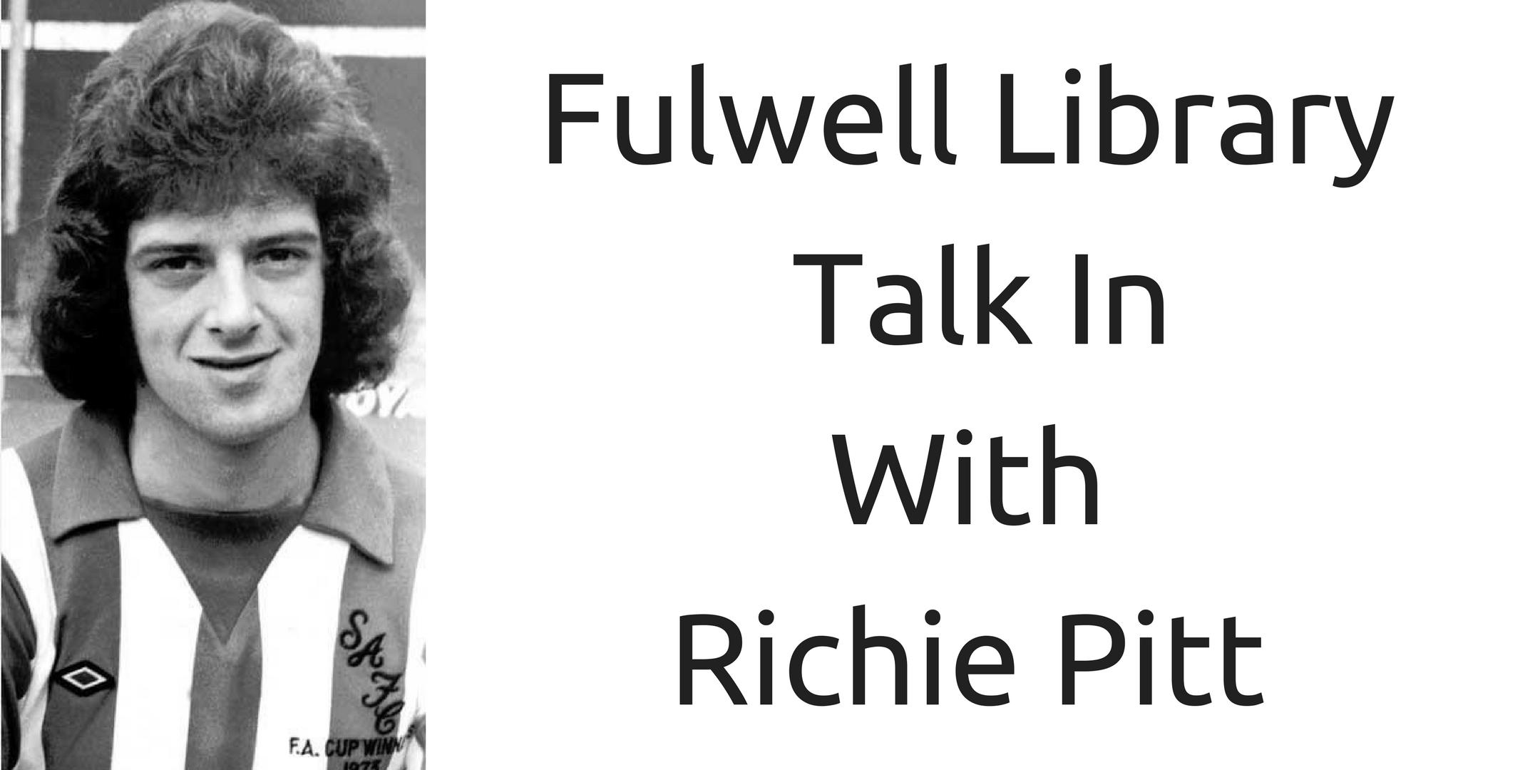 Richie Pitt Talk In