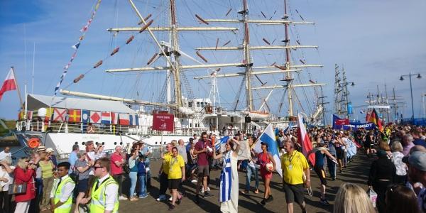 Tall Ships Event Maker Interview - 21 April 1120hrs